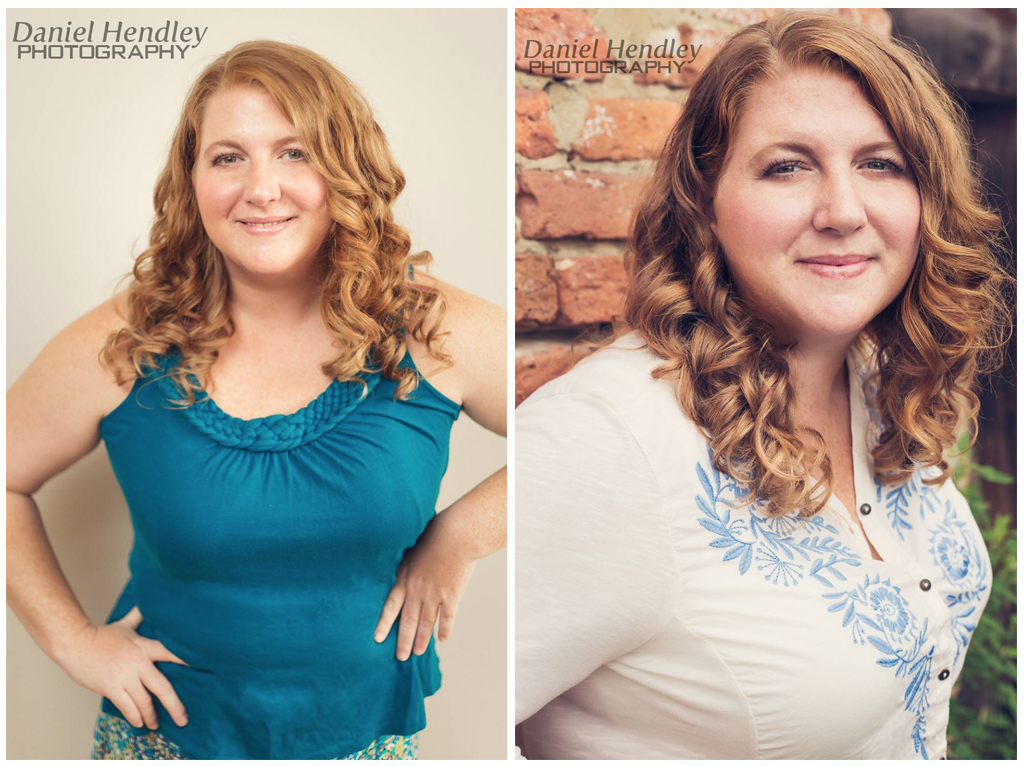 Photographer in Henderson NC - Makeover Photoshoot