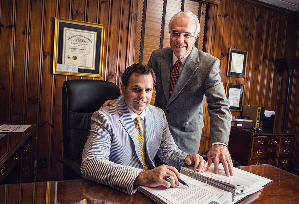 Editorial Portrait Shoot | Cloninger Law Offices