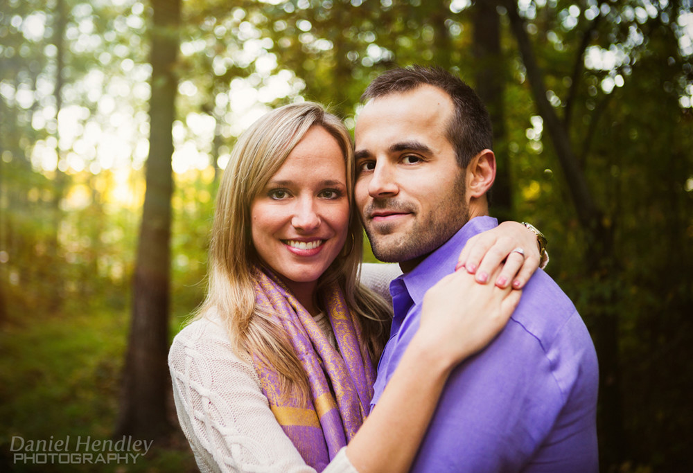Becca & Joe Engagement Photos | A Secret Proposal